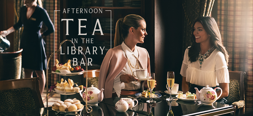 Afternoon Tea In The Library Bar - Fairmont Royal York